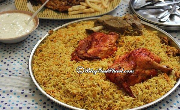 Ăn gì khi đi du lịch Oman? Kinh nghiệm ăn uống khi đi du lịch Oman?