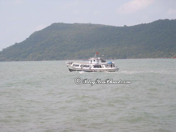 Du lịch Thổ Chu đi bằng gì? Giá vé tàu ra đảo Thổ Chu bao nhiêu tiền?