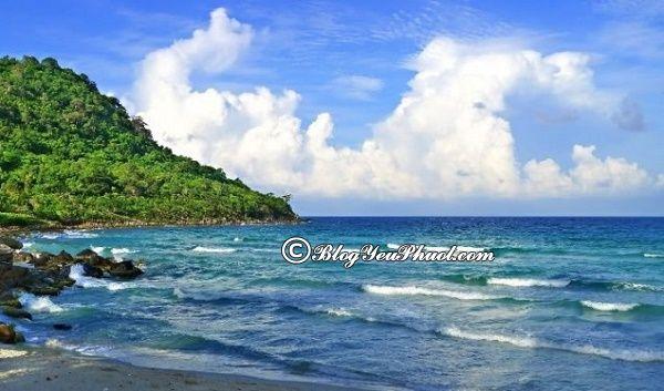 Điểm du lịch ở Thổ Chu đẹp, kinh nghiệm du lịch phượt đảo Thổ Chu