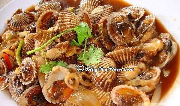 Món ăn ngon ở Tuy Hòa