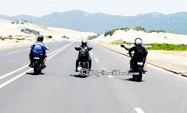 Du lịch Bình Thuận bằng xe máy: Nên đi chơi đâu khi đi du lịch Bình Thuận?