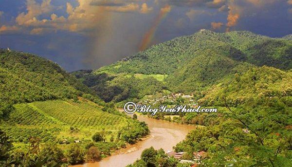 Kinh nghiệm du lịch Chiang Rai - thời điểm đẹp nhất để du lịch Chiang Rai