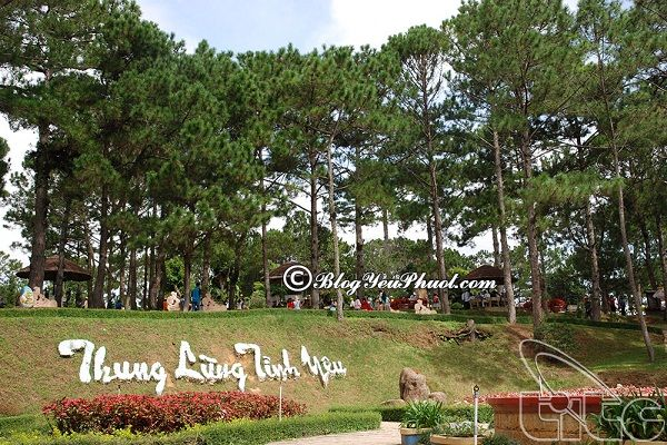 Đi đâu khi du lịch Lâm Đồng? Thung Lũng Tình Yêu Đà Lạt, Lâm Đồng, địa điểm du lịch nổi tiếng ở Lâm Đồng