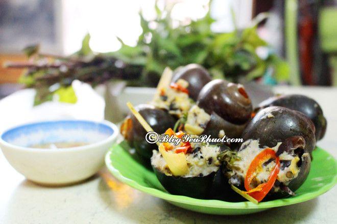 Ăn gì khi du lịch Lâm Đồng? Ốc Nhồi Thịt yêu thích, món ăn ngon đặc sản ở Lâm Đồng