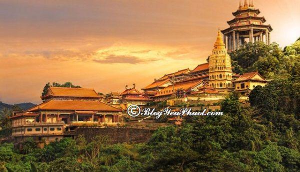 Kinh nghiệm du lịch Penang