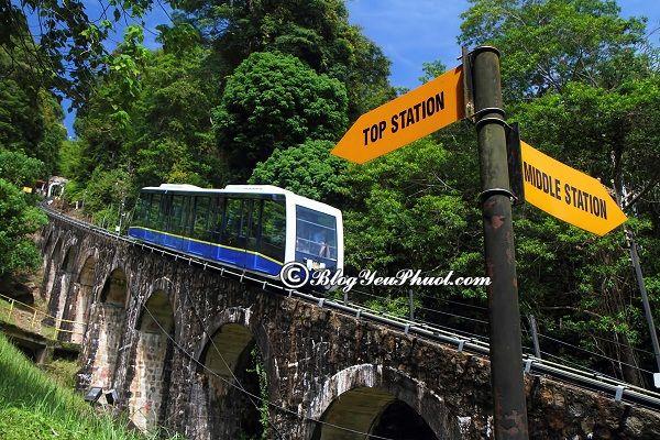 Đi đâu khi du lịch Penang? Penang Hill địa điểm du lịch đẹp, nổi tiếng ở Penang