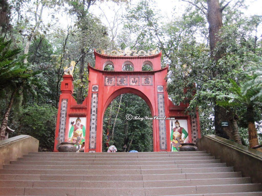 Kinh nghiệm du lịch phượt Phú Thọ: Du lịch Phú Thọ đi chơi, ngắm cảnh, tham quan ở đâu đẹp, nổi tiếng?