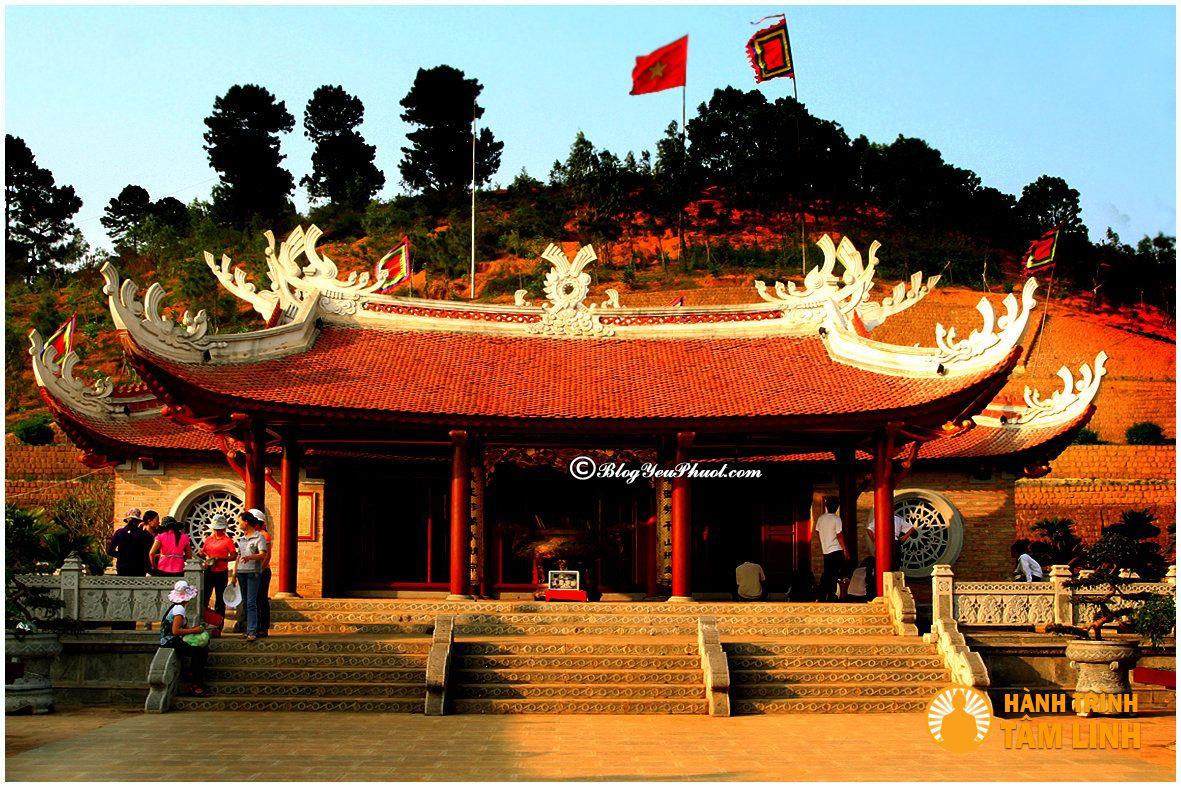 Du lịch phượt Phú Thọ phải ghé thăm Đền Hùng: Nên đi chơi đâu khi phượt Phú Thọ?