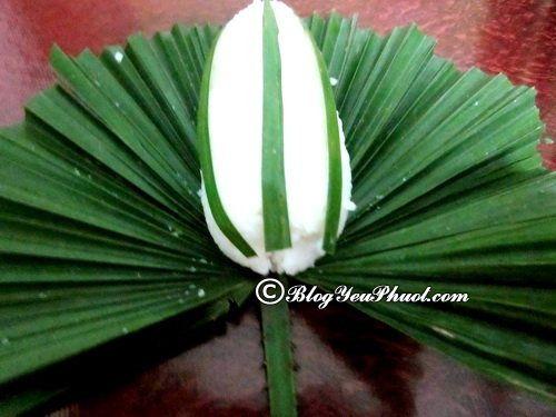 Ăn gì khi du lịch Phú Thọ?- Cơm nắm lá cọ, món ăn ngon đặc sản nổi tiếng ở Phú Thọ