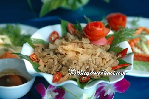 Độc đáo đặc sản thịt chua Thanh Sơn, Phú Thọ: Ăn gì khi đi du lịch Phú Thọ?