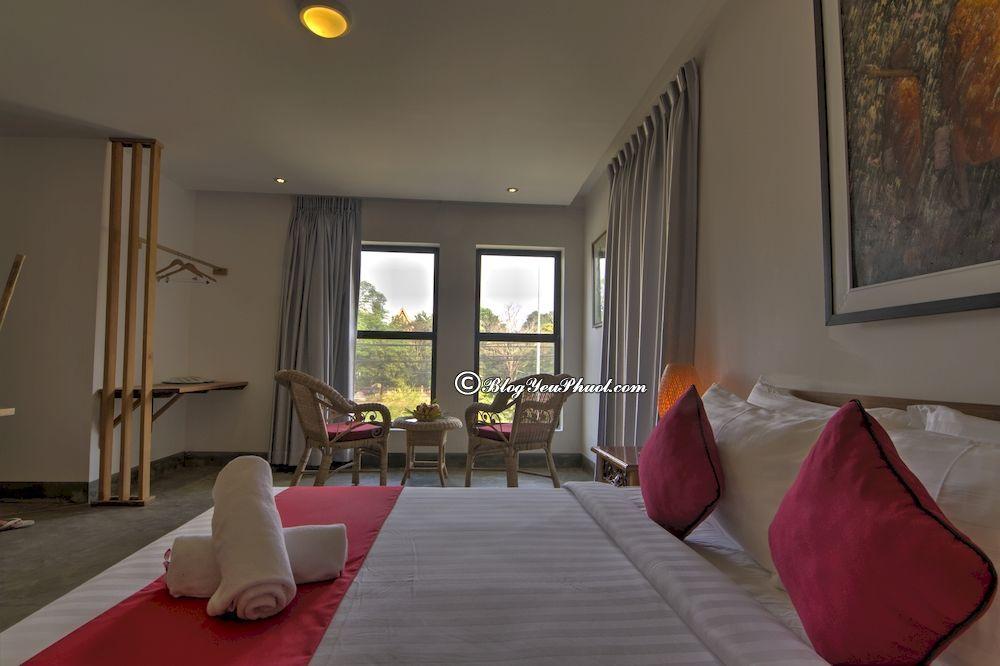 Ở đâu khi du lịch Siem Riep?- Khách sạn giá tốt, chất lượng ở Siem Reap