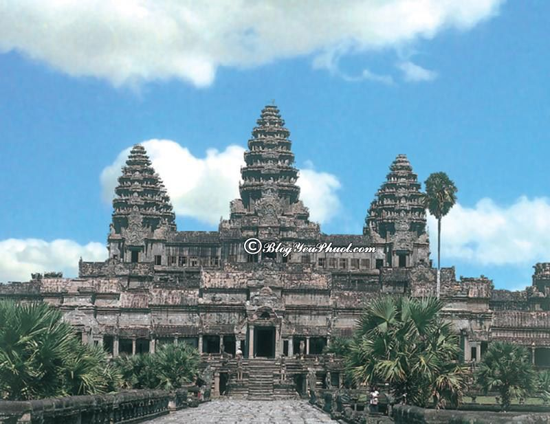 Đến đâu khi du lịch Siem Reap? Đền Angkor Wat, địa điểm du lịch nổi tiếng ở Siem Reap