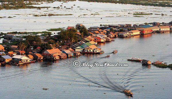 Hướng dẫn đi du lịch Siem Reap: Biển Hồ Campuchia, nơi ngắm cảnh, chụp ảnh đẹp ở Siem Reap