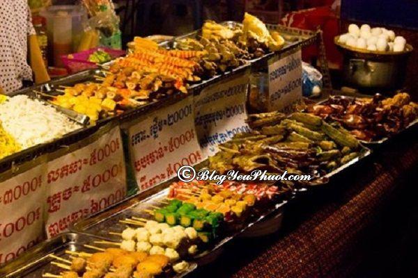 Ăn gì khi du lịch Siem Reap? Ẩm thực Siem Reap rất độc đáo. Kinh nghiệm vui chơi, ăn uống khi đi du lịch Siem Reap