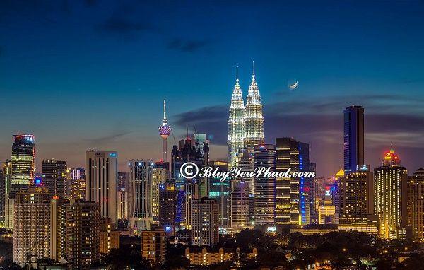 Du lịch Kuala Lumpur nên ở đâu?
