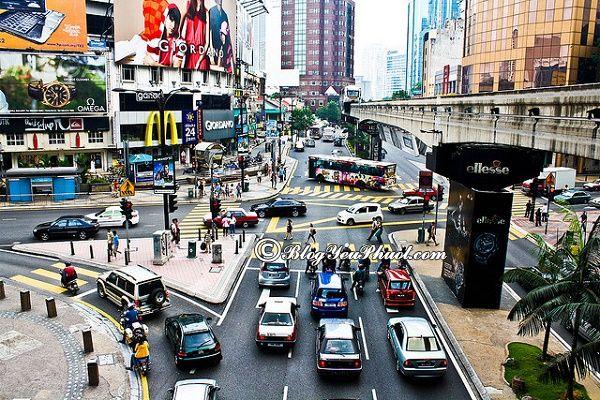 Đi du lịch Kuala Lumpur có nên ở Khu Bukit Bintang? Tư vấn đặt phòng khách sạn ở Kuala Lumpur giá rẻ, đẹp, tiện nghi