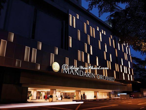 Khách sạn uy tín, giá tốt ở Singapore: Khách sạn chất lượng cao, tiện nghi, sạch đẹp ở Singapore