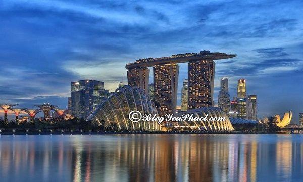 Đi du lịch Singapore nên ở khách sạn nào? Khách sạn cao cấp, bình dân, giá rẻ ở Singapore đẹp, tiện nghi, nên ở