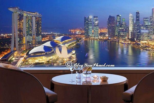 Nên ở đâu khi đi du lịch Singapore?