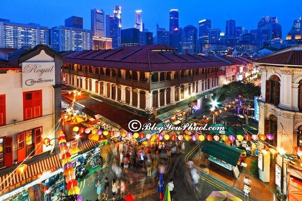 Khách sạn cao cấp ở Singapore giá tốt, chất lượng, tiện nghi nên ở