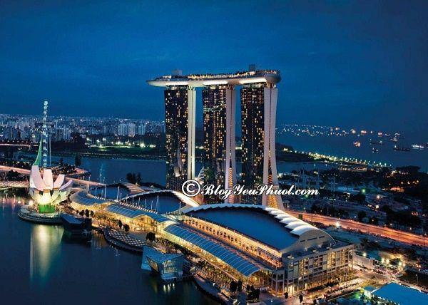 Nên ở khu nào ở Singapore? Tư vấn lựa chọn khách sạn khi đi du lịch Singapore