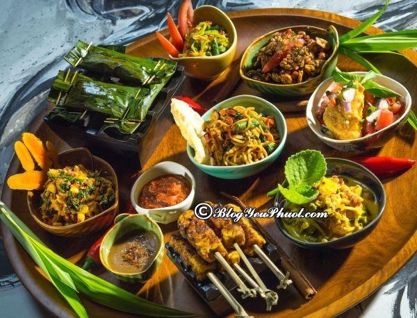 Nhà hàng quán ăn ngon phải thử ở Bali: Những món ăn ngon đặc sản ở Bali nổi tiếng nhất