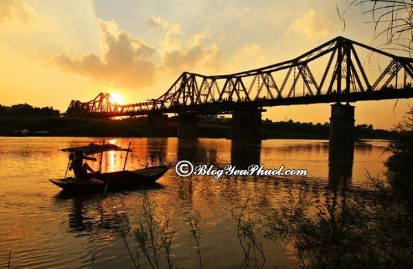 Địa điểm du lịch nổi tiếng Hà Nội phải nhắc đến Cầu Long Biên: Khám phá những cây cầu huyền thoại ở Việt Nam
