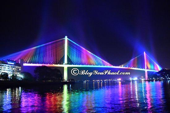 Du lịch Hạ Long ngắm Cầu Bãi Cháy đẹp khó cưỡng: Những cây cầu đẹp, độc đáo, nổi tiếng nhất Việt Nam