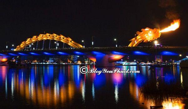 Cầu Rồng- Cây cầu đẹp nổi tiếng nhất Việt Nam: Địa chỉ những cây cầu huyền thoại, chụp hình cực đẹp ở Việt Nam