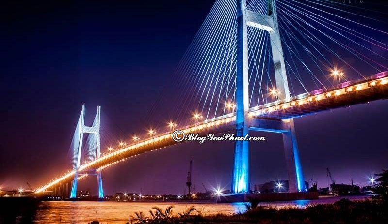 Những cây cầu đẹp nổi tiếng ở Việt Nam: Việt Nam có cây cầu nào đẹp, nổi tiếng nhất?