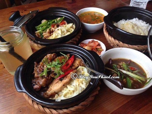 Nhà hàng, quán cơm niêu ngon, nổi tiếng ở Hà Nội