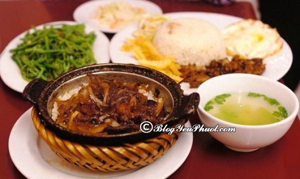 Địa chỉ ăn cơm niêu thơm ngon, hấp dẫn ở Hà Nội: Danh sách các quán cơm niêu ngon, bổ, rẻ ở Hà Nội