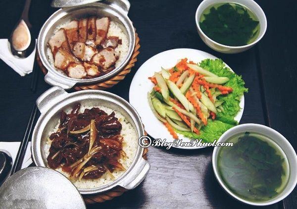 Tổng hợp những quán cơm niêu ngon, hấp dẫn ở Hà Nội: Ăn cơm niêu ở đâu Hà Nội ngon nhất?