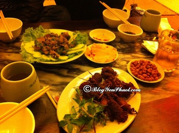 Quán nhậu ở Hà Nội hấp dẫn nhất: Ăn nhậu ở đâu Hà Nội ngon nhất?