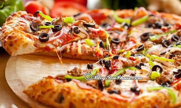 Những quán pizza ngon nhất Hà Nội
