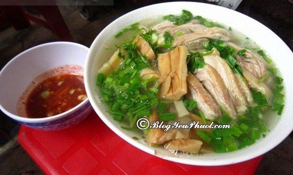 Những quán bún ngan ngon không thể bỏ qua ở Hà Nội: Đi ăn bún ngan ở đâu Hà Nội ngon, giá bình dân?
