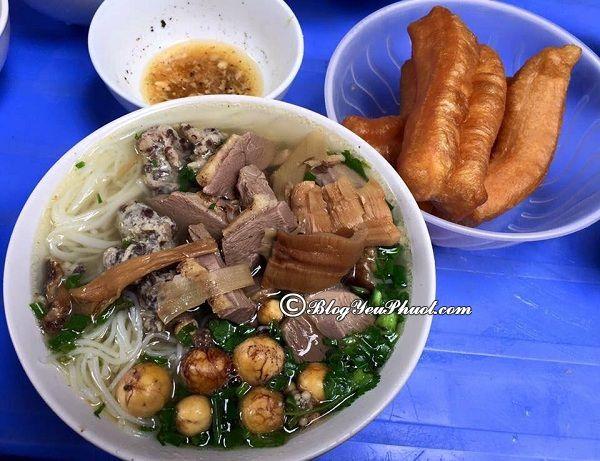 Những quán bún ngan ngon không thể bỏ qua ở Hà Nội: Nên ăn bún ngan ở đâu Hà Nội?
