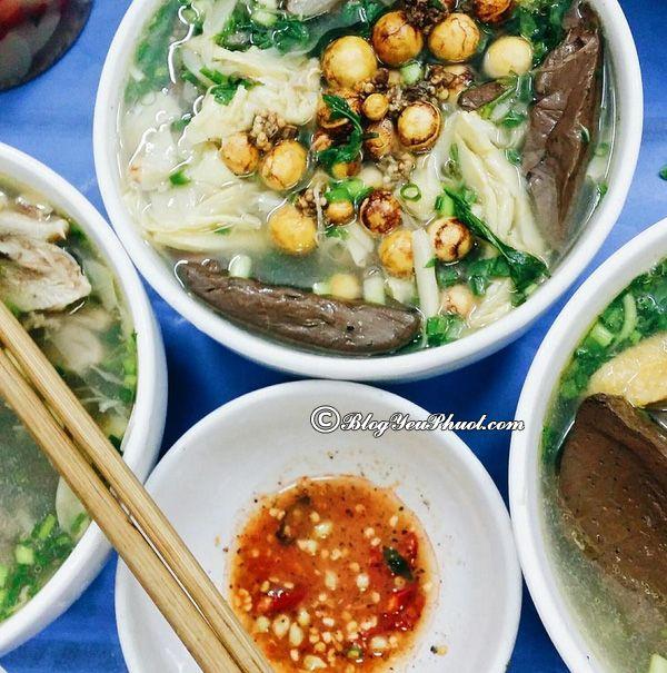 Những quán bún ngan ngon không thể bỏ qua ở Hà Nội: Địa chỉ ăn bún ngan ngon, nổi tiếng ở Hà Nội
