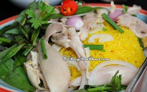 Quán gà ngon nổi tiếng Đà Nẵng- Cơm gà bà Ký Tam Kỳ, Đà Nẵng có quán cơm gà nào ngon, giá bình dân?