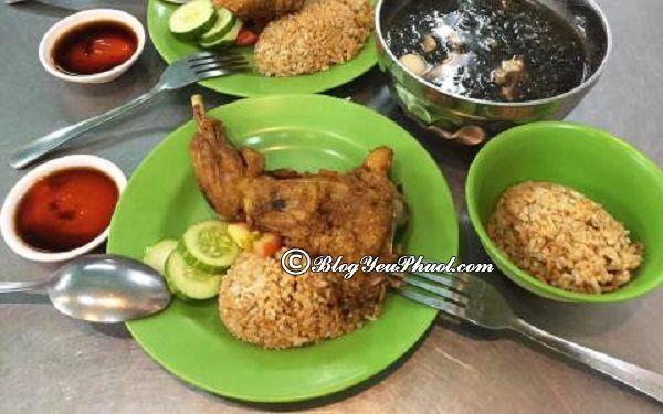 Quán cơm gà ngon ở Sài Gòn - Quán Lão Hương Thân: Địa chỉ quán cơm gà ngon, giá bình dân nổi tiếng ở Sài Gòn