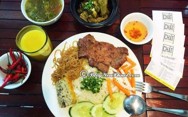 Địa chỉ ăn ngon lý tưởng tại Đà Nẵng - Quán cơm Tấm chất: Địa chỉ quán cơm tấm ngon, nổi tiếng ở Đà Nẵng