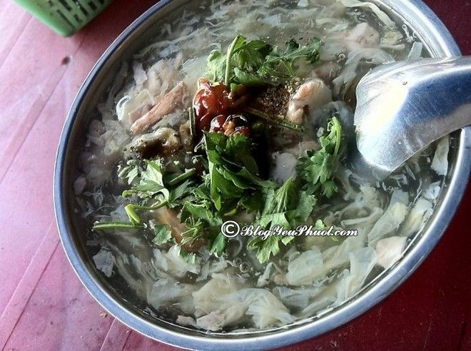Địa chỉ ăn súp cua ngon ở Sài Gòn
