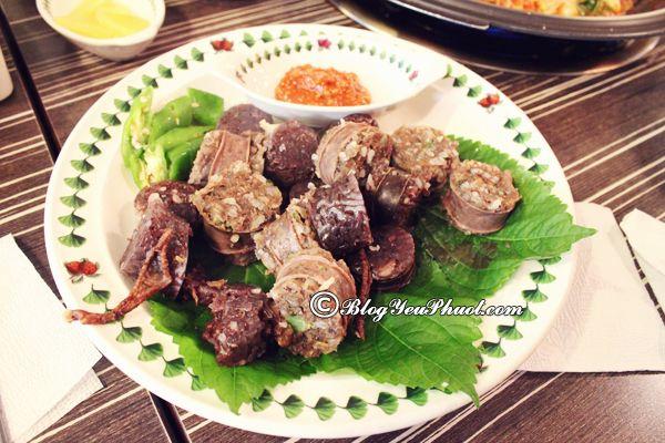 Ăn gì khi du lịch Busan, ở đâu ngon? Nên ăn gì khi đi du lịch Busan ngon, hấp dẫn?