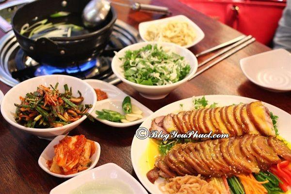 Ăn gì khi du lịch Busan, ở đâu ngon? Món ăn ngon hấp dẫn ở Busan, Hàn Quốc