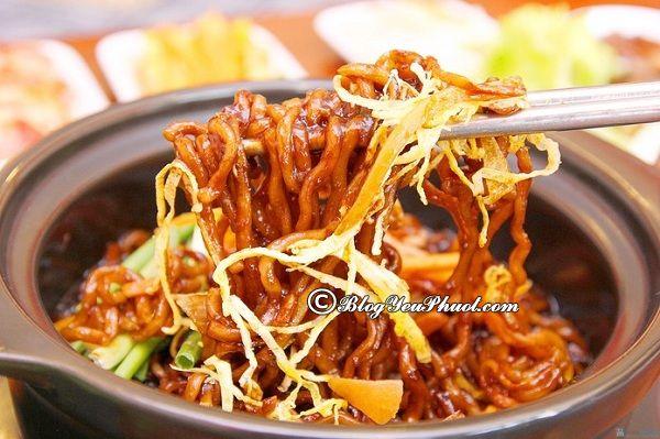 Món ăn ngon, đặc trưng của thành phố biển Busan: Du lịch Busan nên ăn món gì?