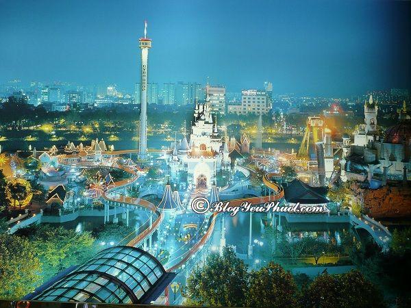 Địa chỉ các công viên giải trí nổi tiếng ở Hàn Quốc: Công viên vui chơi giải trí nào ở Hàn Quốc đẹp, độc đáo nhất?