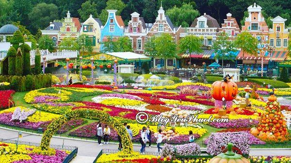 Công viên giải trí nổi tiếng nhất Hàn Quốc: Những công viên vui chơi, giải trí đẹp, thú vị ở Hàn Quốc