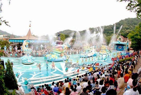 Đi đâu chơi khi du lịch Hàn Quốc? Những công viên vui chơi, giải trí nổi tiếng, giá rẻ ở Hàn Quốc