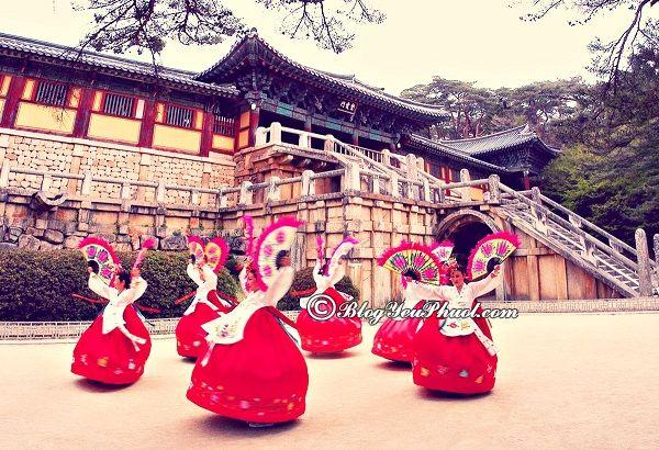 các công viên giải trí nổi tiếng ở Hàn Quốc