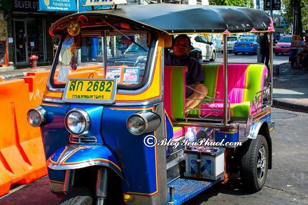 Phương tiện đi lại khi du lịch thái lan giá rẻ, phổ biến: Nên đi xe gì đi tham quan, vui chơi ở Thái Lan